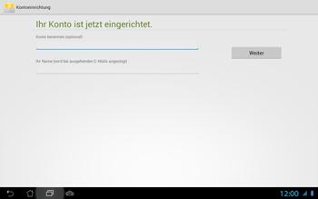 Asus Padfone 2 - E-Mail - Konto einrichten - 0 / 0