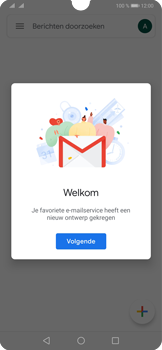 Huawei P30 - E-mail - Handmatig instellen (gmail) - Stap 13