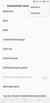 Samsung Galaxy J4+ - Internet - Apn-Einstellungen - 18 / 41