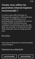 Nokia Lumia 635 - Internet et roaming de données - Navigation sur Internet - Étape 4