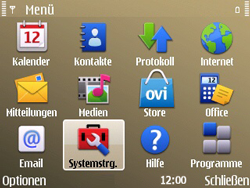 Nokia E72 - MMS - Manuelle Konfiguration - Schritt 4