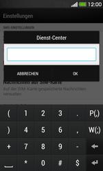 HTC Desire 500 - SMS - Manuelle Konfiguration - Schritt 7
