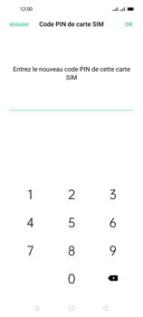 Oppo Reno 4 Pro - Sécuriser votre mobile - Personnaliser le code PIN de votre carte SIM - Étape 11