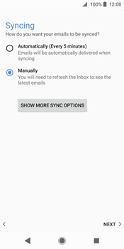 Sony Xperia XZ2 - E-mail - Manual configuration (yahoo) - Step 10