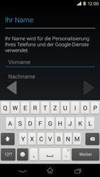 Sony Xperia M2 - Apps - Konto anlegen und einrichten - 5 / 23
