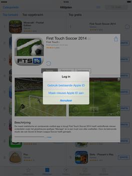 Apple iPad 4th generation (Retina) met iOS 7 - Applicaties - Account aanmaken - Stap 7