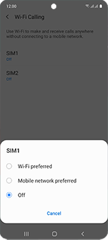 Samsung Galaxy A51 - WiFi - Enable WiFi Calling - Step 8
