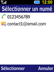 Samsung B550H Xcover 550 - MMS - envoi d'images - Étape 6