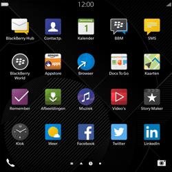 BlackBerry Passport - Internet - Hoe te internetten - Stap 2