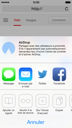 Apple iPhone 5 iOS 7 - Internet et roaming de données - Navigation sur Internet - Étape 6
