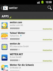 Samsung S5360 Galaxy Y - Apps - Herunterladen - Schritt 14