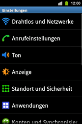 Samsung S5830i Galaxy Ace i - WLAN - Manuelle Konfiguration - Schritt 4