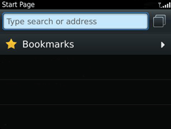 BlackBerry 9360 Curve - Internet - Internet browsing - Step 3
