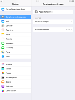 Apple iPad mini 4 iOS 11 - E-mail - Configuration manuelle - Étape 5