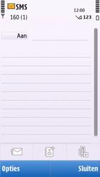 Nokia C6-00 - SMS - handmatig instellen - Stap 5