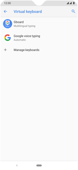 Nokia 7.2 - Getting started - How to add a keyboard language - Step 7