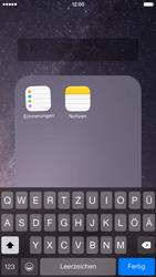Apple iPhone 6 iOS 8 - Startanleitung - Personalisieren der Startseite - Schritt 6