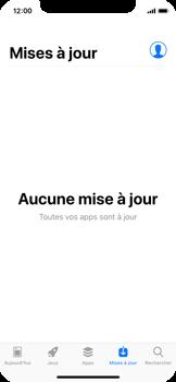 Apple iPhone X - Applications - Comment vérifier les mises à jour des applications - Étape 4
