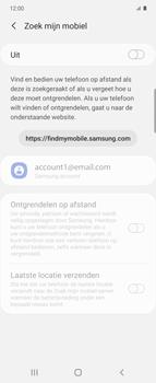 Samsung Galaxy Z Flip Single-SIM + eSIM (SM-F700F) - Beveiliging en ouderlijk toezicht - Zoek mijn mobiel inschakelen - Stap 6