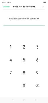 Oppo Reno 2Z - Sécuriser votre mobile - Personnaliser le code PIN de votre carte SIM - Étape 11