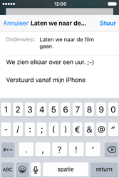 Apple iPhone 4S iOS 9 - E-mail - hoe te versturen - Stap 8