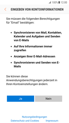 Samsung Galaxy S7 - E-Mail - Konto einrichten (outlook) - 1 / 1