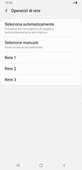 Samsung Galaxy Note9 - Android Pie - Rete - Selezione manuale della rete - Fase 10