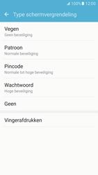 Samsung Galaxy S7 - Beveiliging en ouderlijk toezicht - Toegangscode instellen - Stap 6