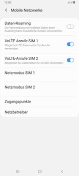 Samsung Galaxy A80 - Netzwerk - Manuelle Netzwerkwahl - Schritt 6