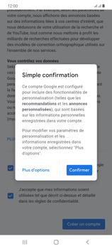 Samsung Galaxy Note20 - Applications - Créer un compte - Étape 18