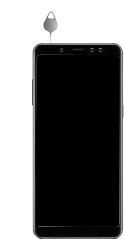 Samsung Galaxy A8 - Premiers pas - Insérer la carte SIM - Étape 7