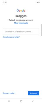 Samsung Galaxy Z Flip Single-SIM + eSIM (SM-F700F) - Applicaties - Account aanmaken - Stap 5
