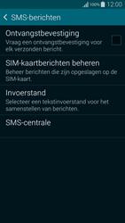 Samsung G850F Galaxy Alpha - SMS - SMS-centrale instellen - Stap 9