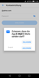 Huawei Y5 (2018) - E-Mail - Konto einrichten (yahoo) - Schritt 8
