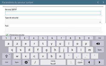Samsung T535 Galaxy Tab 4 10.1 - E-mail - configuration manuelle - Étape 12