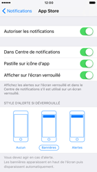 Apple iPhone 6 iOS 10 - iOS features - Personnaliser les notifications - Étape 5