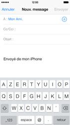 Apple iPhone 5c - E-mail - Envoi d