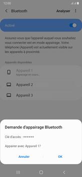 Samsung Galaxy Note20 Ultra 5G - Internet et connexion - Connexion avec un équipement multimédia via Bluetooth - Étape 9