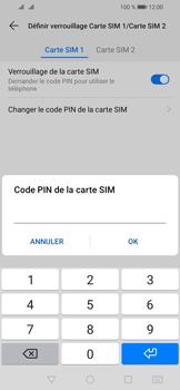 Huawei Y6 (2019) - Sécurité - modifier SIM PIN - Étape 10