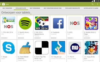 Samsung Galaxy Tab4 10.1 4G (SM-T535) - Applicaties - Downloaden - Stap 8