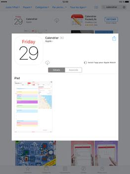 Apple iPad Air 2 iOS 10 - iOS features - Supprimer et restaurer les applications iOS par défaut - Étape 11