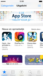 Apple iPhone 5 iOS 7 - apps - app store gebruiken - stap 4