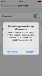 Apple iPhone 5s - Bluetooth - Geräte koppeln - 8 / 10