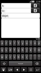 Nokia 808 PureView - E-mail - Envoi d