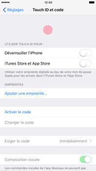 Apple iPhone 7 Plus - Sécuriser votre mobile - Activer le code de verrouillage - Étape 4