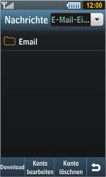 Samsung S8000 Jet - E-Mail - Konto einrichten - Schritt 5