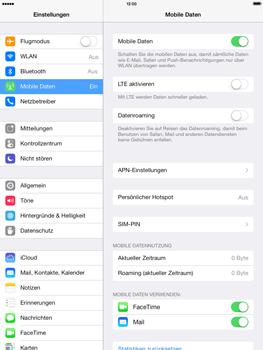 Apple iPad mini iOS 7 - Netzwerk - Netzwerkeinstellungen ändern - Schritt 6
