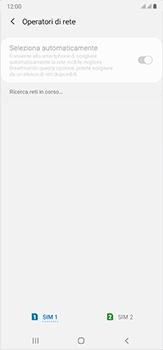 Samsung Galaxy Note 20 Ultra 5G - Rete - Selezione manuale della rete - Fase 10