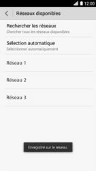 Huawei Ascend G6 - Réseau - Sélection manuelle du réseau - Étape 10