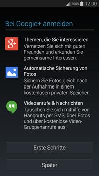 Samsung Galaxy Note 4 - Apps - Einrichten des App Stores - Schritt 19